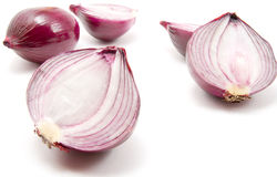 Onion. S isolated on white background royalty free stock photos