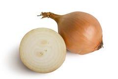 Onion. Isolated on white background Royalty Free Stock Photo