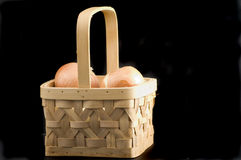 Onion basket Stock Photo