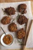 Onion Bhajis Stock Photo