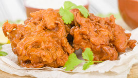 Onion Bhajis Royalty Free Stock Photography