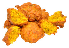 Onion Bhajis Stock Photos