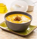 Onion cream soup Stock Photography