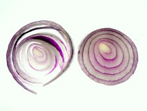 Onion discs Royalty Free Stock Photo
