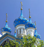 Onion domed church - Buenos Aires - Argentina Stock Image