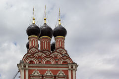 Onion domes, Taganskaya, Moscow Royalty Free Stock Image