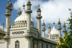 Exotic palace architecture royal pavilion brighton Royalty Free Stock Image