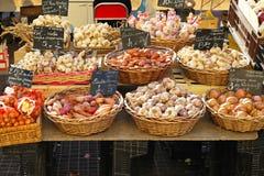 Onion and garlic Stock Image