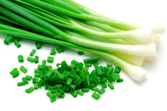 Onion green Royalty Free Stock Photo