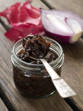 Onion jam Royalty Free Stock Photography