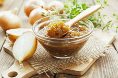 Onion jam Stock Images