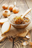 Onion jam Stock Photos