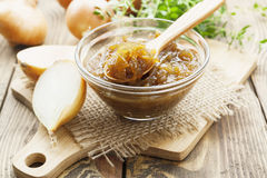 Onion jam Stock Photography