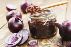 Onion jam Royalty Free Stock Image