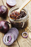 Onion jam Stock Image