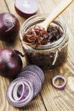 Onion jam Stock Image
