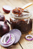 Onion jam Stock Photography