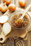 Onion jam Royalty Free Stock Photo