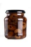 Onion jar Royalty Free Stock Image