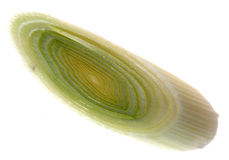 Onion leek Stock Images