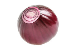 Onion macro Royalty Free Stock Photo