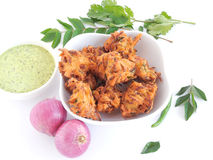 Onion Pakoda Stock Images