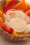 Onion pepper 92 stock image