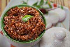 Onion Pickle/Vengayam Oorukkai Royalty Free Stock Photo