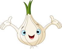 Onion Presenting Something Royalty Free Stock Image