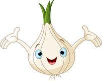 Onion Presenting Something Royalty Free Stock Image