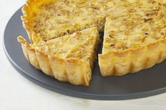 Onion Quiche Royalty Free Stock Photo