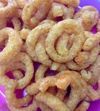 Onion Ring Crisps Party Food Stock Photography