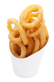 Onion Rings. From a Fast Food Restaurant stock photography