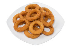 Onion Rings Royalty Free Stock Images