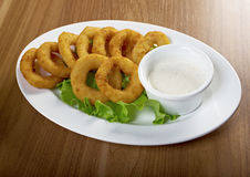 Onion Rings Breaded Royalty Free Stock Image