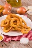 Onion rings. stock photo