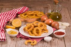 Onion rings. stock photography