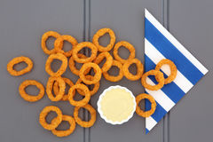 Onion Rings Stock Images