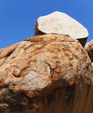 Onion rock of Devils Marbles Stock Photography