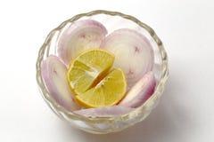 Onion salad Stock Photo