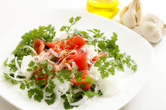 Onion salad Stock Images