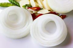 onion sliced Στοκ Εικόνα