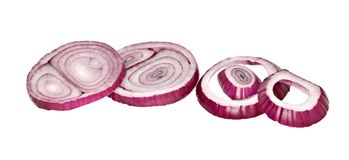 Onion slices Royalty Free Stock Photo