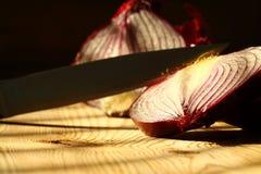 Onion slicing knife B Stock Image