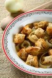Onion soup Stock Images