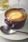Onion soup Stock Image