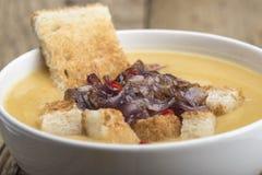 Onion soup Stock Photo