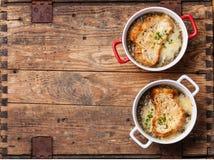 Onion soup Stock Photography