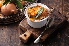 Onion soup Royalty Free Stock Image