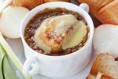 Onion soup Royalty Free Stock Photos